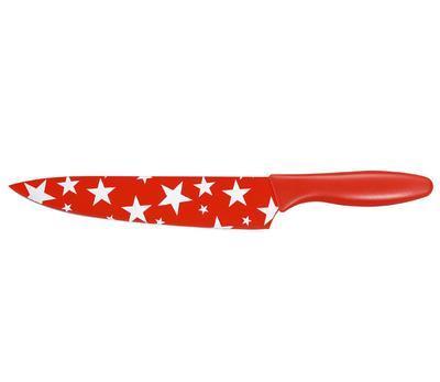 Nůž kuchyňský STARS 20 cm - červená, Zassenhaus
