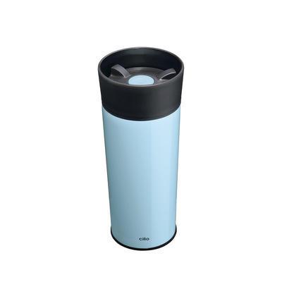 Termohrnek MONDO 350 ml - modrá, Cilio - 1