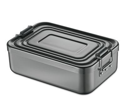 Obědový box, anthrazit, malý - 1