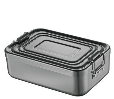 Obědový box, anthrazit, velký - 1