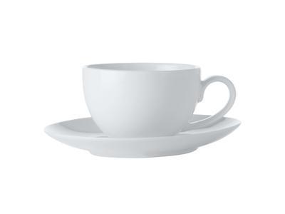 Espresso šálek s podšálkem, 100 ml, WHITE BASIC, Maxwell and Williams - 1
