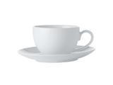 Espresso šálek s podšálkem, 100 ml, WHITE BASIC, Maxwell and Williams - 1/2
