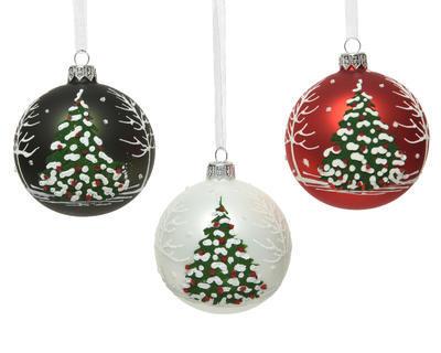 Vánoční ozdoba Stromeček 3 assort, Kaemingk