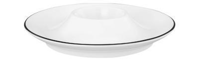 Talířek na vajíčko 12,5cm LIDO BLACK LINE, Seltmann Weiden - 1