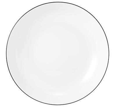 Hluboký talíř 21cm LIDO BLACK LINE, Seltmann Weiden - 1