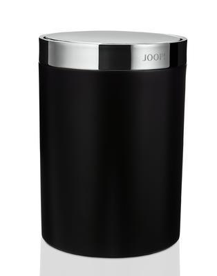 Koš odpadkový CHROMELINE 26x18 cm - chrom/černý, JOOP!