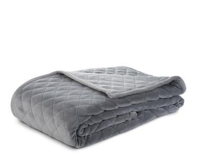 Prošívaný přehoz přes postel 220x240, silber, Gözze - 1