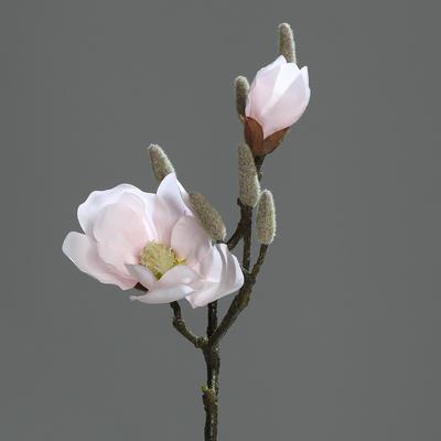 Větvička MAGNOLIE FRESH 44 cm - růžová, DPI