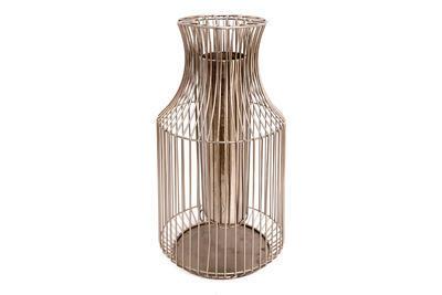 Dekorativní váza, stříbrná, 50cm, Sifcon