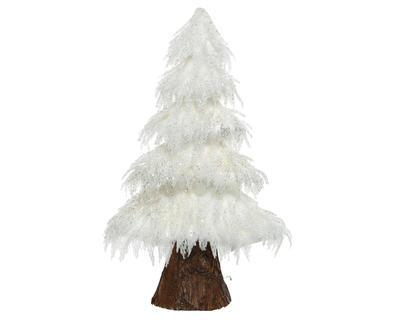 Vánoční dekorace STROMEČEK, bílý, 20x50x80cm, Kaemingk