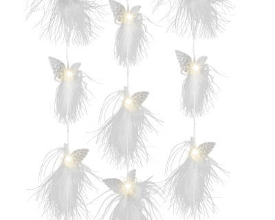 Micro LED girlanda s andělíčky, 200cm-20xLED, Kaemingk - 1