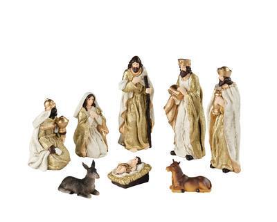 SET-figurky k betlému, cca 15cm, Kaemingk - 1