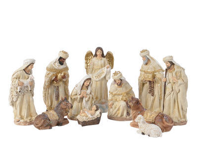 SET-figurky k betlému, cca 21cm, Kaemingk