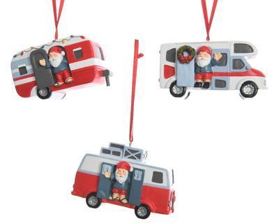 Vánoční ozdoba - vozidlo, Kaemingk