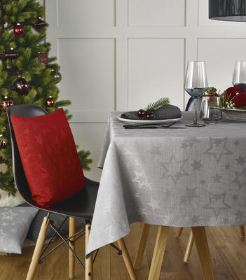 Vánoční ubrus COSMO 150x250 - červený, Sander - 1