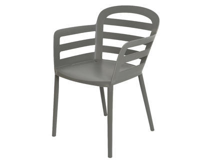 Stohovací židle BOSTON, 56,5x59x81cm, antracit, venkovní, Kaemingk - 1