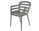 Stohovací židle BOSTON, 56,5x59x81cm, antracit, venkovní, Kaemingk - 1/5