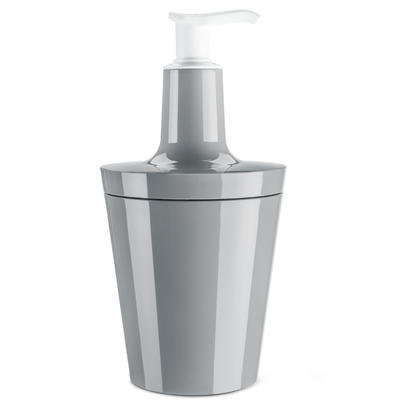 Dávkovač na mýdlo FLOW 250 ml - šedá, Koziol - 1