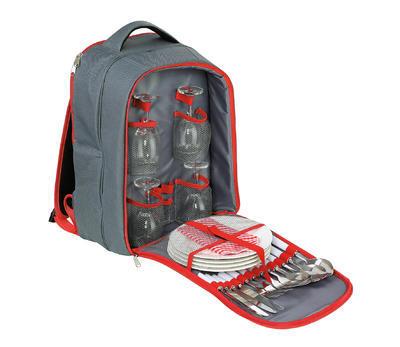 Piknikový batoh GARDA - šedý, Cilio - 1