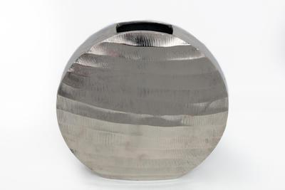 """Váza """"S"""" SILVER CUT FLAT 25x6x24,5 cm, Sifcon"""