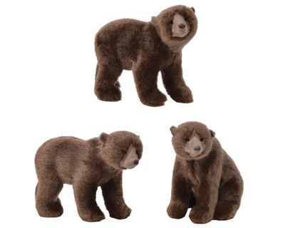 Dekorace Medvěd - 3 assort - malý