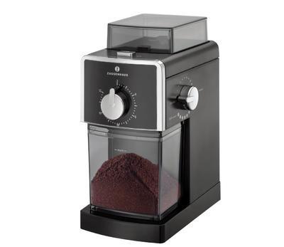 Mlýnek elektrický na kávu KINGSTONE - černá, Zassenhaus