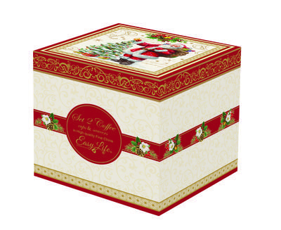 Vánoční set 2ks - Šálek & podšálek MAGIC CHRISTMAS 50 ml, Easy Life - 2