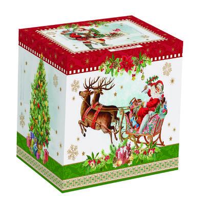 Vánoční hrnek VINTAGE SANTA RED 350 ml, Easy Life - 2