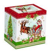 Vánoční hrnek VINTAGE SANTA RED 350 ml, Easy Life - 2/4