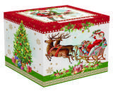 Vánoční set 4ks - Miska VINTAGE XMAS 10 cm, Easy Life - 2/4