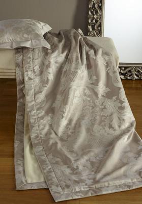 Přehoz přes postel LOUIS XIV. 130x190 - alsilber, Bauer - 2