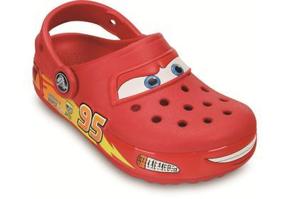 Boty LIGHTS CARS CLOG C12 red, Crocs - 2