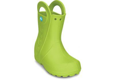 Holínky HANDLE IT RAIN BOOT KIDS C11 volt green, Crocs - 2