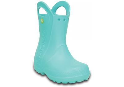 Holínky HANDLE IT RAIN BOOT KIDS C11 pool blue, Crocs - 2