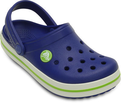 Boty CROCBAND KIDS C6/7 cerulean blue/volt green, Crocs - 2
