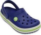 Boty CROCBAND KIDS C12/13 cerulean blue/volt green, Crocs - 2/6