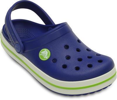 Boty CROCBAND KIDS J2 cerulean blue/volt green, Crocs - 2
