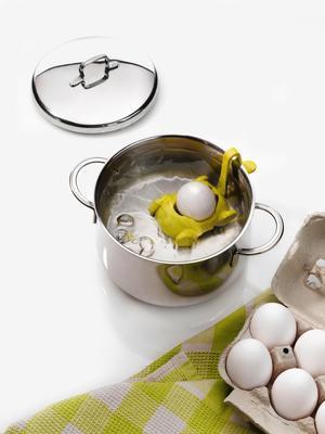 Držák na vaření vajíčka BUGGY - hořčicová, Koziol - 2