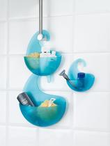 Držák koupelnový SURF XL - transp. tyrkysová, Koziol - 2/2