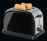 Toaster na dva plátky RETRO - černý, Cilio - 2/5