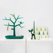 Držák na drobnosti - strom PI:P - tmavě zelená, Koziol - 2
