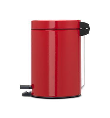 Koš pedálový 3 l zářivě červená, Brabantia - 2