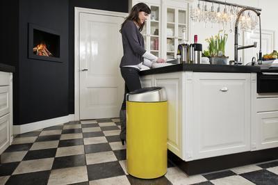 Koš odpadkový TOUCH BIN 45 l - žlutá, Brabantia - 2