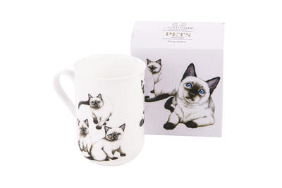 Hrnek Cat Siamese CASHMERE PETS 300 ml, Maxwell & Williams - 2