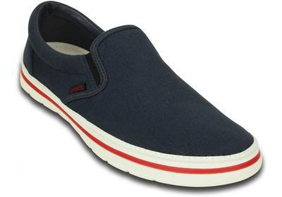 Boty NORLIN SLIP-ON MEN'S M12 navy/white, Crocs  - 2