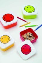 """Box svačinový """"M"""" SMILEY 10x10 cm - grapefruit/bílá, Zak! - 2/2"""