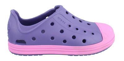 Boty BUMP IT SHOE KIDS J3 blue/violet, Crocs - 2