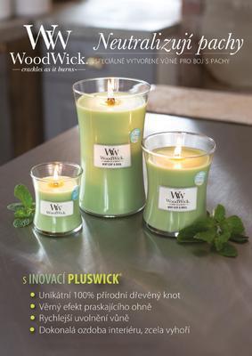 Svíčka 609,5 g Rose, WoodWick - 2