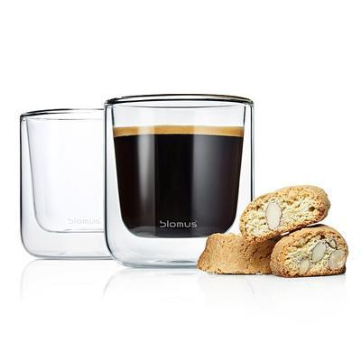 Sada 2 ks - termosklenice caffé NERO 200 ml, Blomus - 2