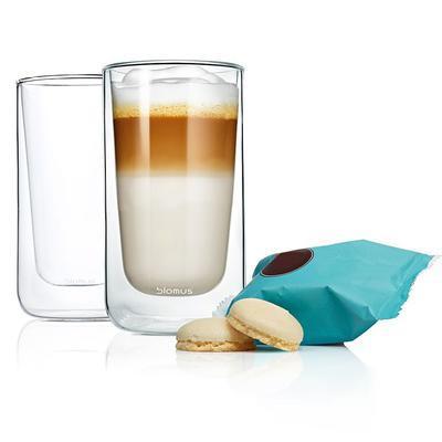 Sada termosklenic café latte 2ks NERO 320 ml, Blomus - 2